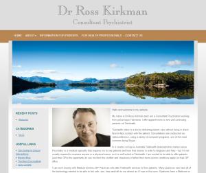 Dr Ross Kirkman – Psychiatrist