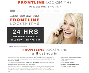 FRONTLINE LOCKSMITHS   MASTER MOBILE LOCKSMITHS –