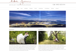 Hobart Photographer website update
