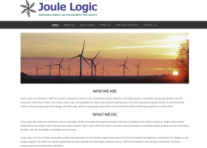 Joule Logic – Experts in renewable energy