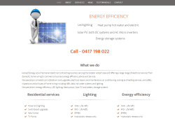 Harvest Energy – Electrical Contractors