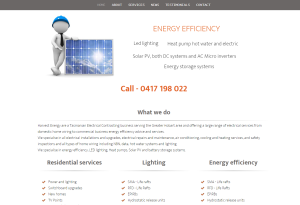 Harvest Energy – Hobart electrical contractors