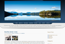 New Website for Tasmanian Boat Charters