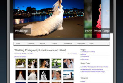 New website design for Hobart Photographer