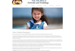 New Website for Hobart Wedding Photographer
