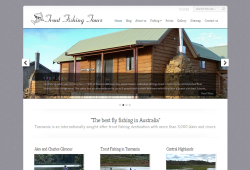 New Website for Trout Fishing Tours