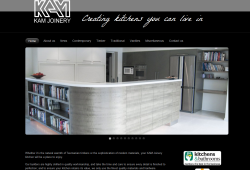 Kam Joinery website update