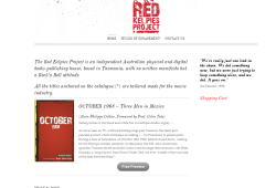 New Website for Red Kelpies Project