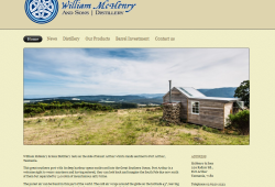 New Website for McHenry and Son's Distillery