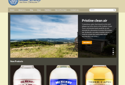 Website update for McHenry and Son's Distillery