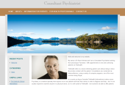 New website for Tele Health Psychiatrist