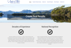 Claire Ellis – Tourism analysis and solutions