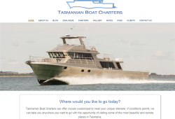 Tasmanian Boat Charters Update